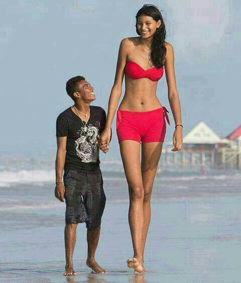 Funny boy and girl nude